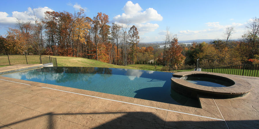 a George Neiderer Custom Outdoor Pool